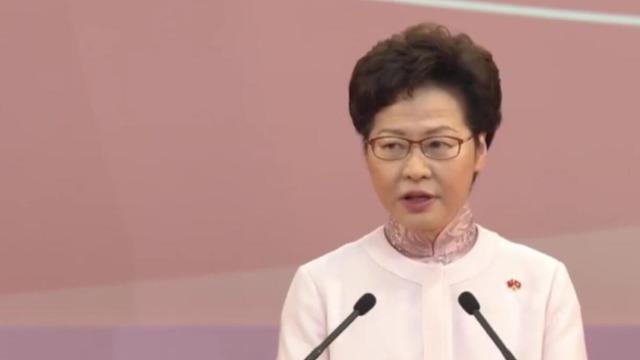 历史性一步!林郑月娥谈及香港国安法 语气坚定铿锵表态