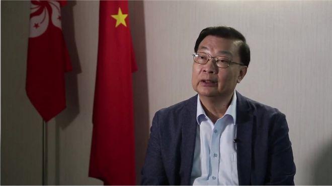 谭耀宗接受BBC专访