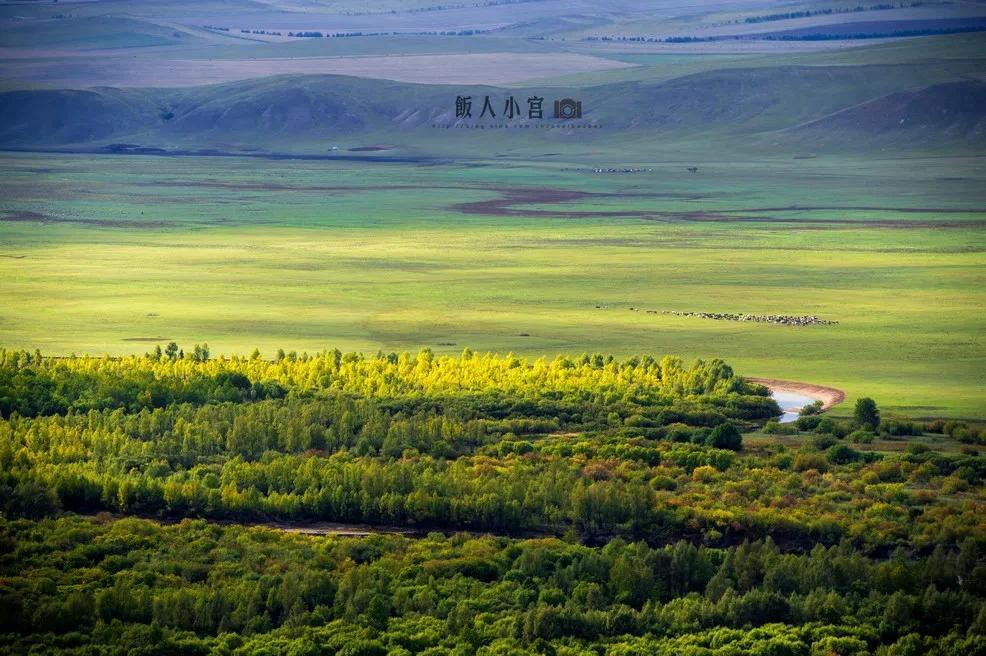 额尔古纳湿地 来自马蜂窝用户@饭人小宫