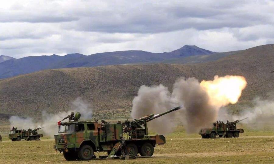 火炮――高原作战不可或缺的利器
