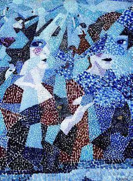 塞维里尼,纠缠的舞者,1911,都灵,私人收藏