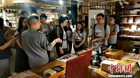2019香港大学生山西暑期实习团访问山西大学。 高超 摄