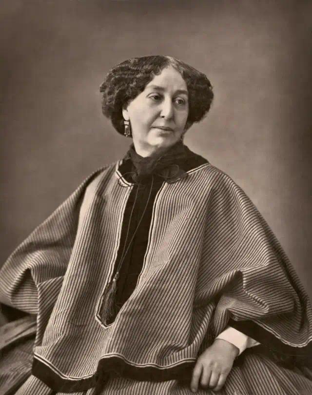 乔治·桑(1804.7.1-1876.6.8),原名露西·奥罗尔·杜邦,法国小说家
