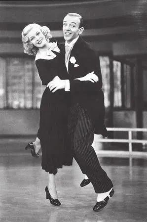 弗雷德·阿斯泰尔和珍姬·罗杰丝,电影《海上恋舞》,马克·桑德里奇导演,1936