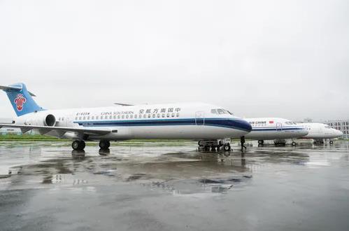 三大航空公司喜提国产新支线客机ARJ21