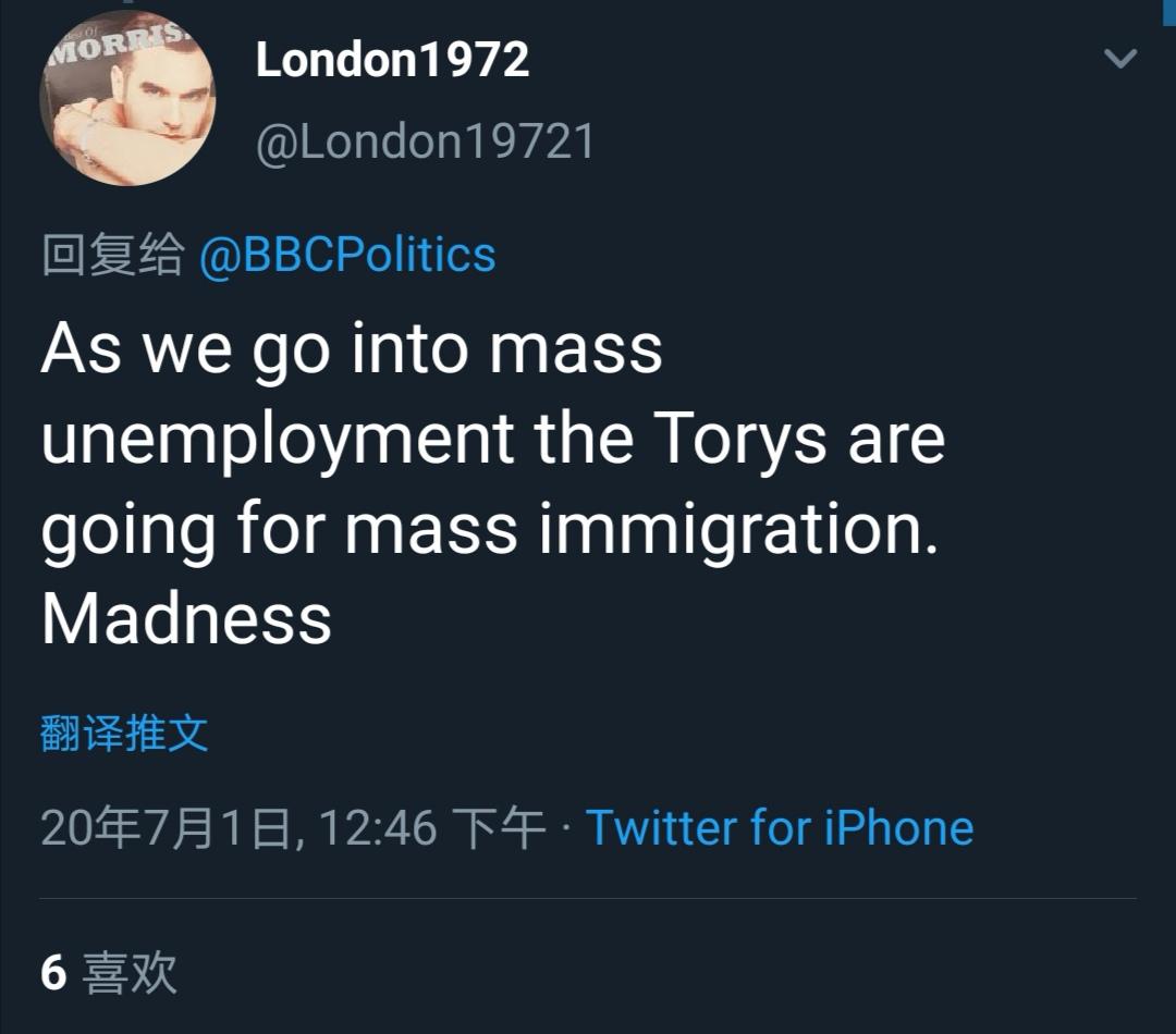 英国首相鲍里斯:欢迎香港人来英国?英国网友:别来!