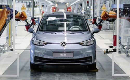 大众正将德国另一工厂转换为电动汽车工厂 投资约10亿欧元
