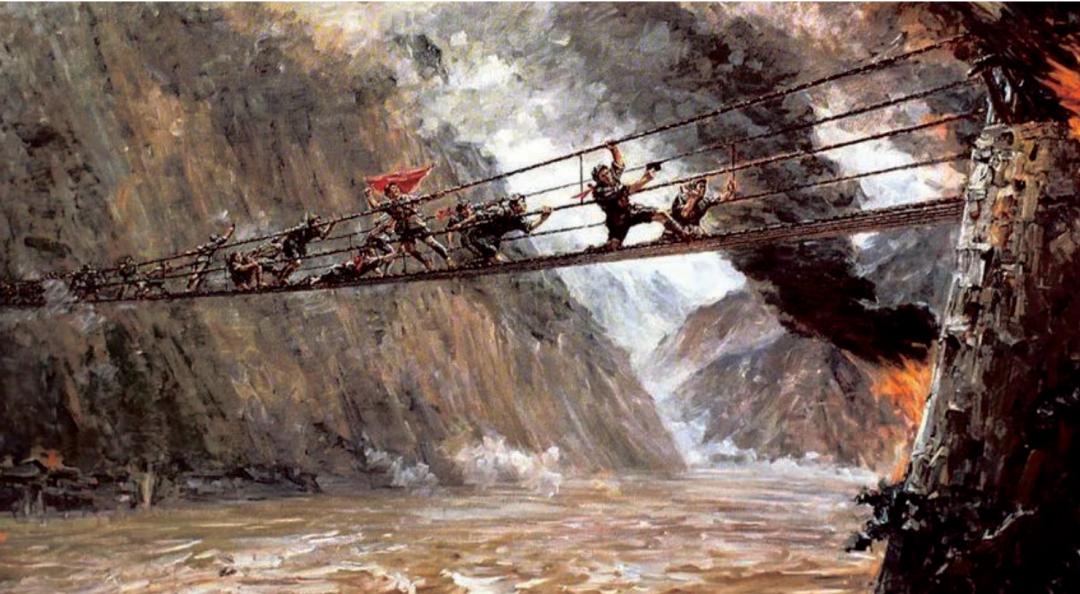 """【精品教学】_""""飞夺泸定桥""""是虚构的吗?"""