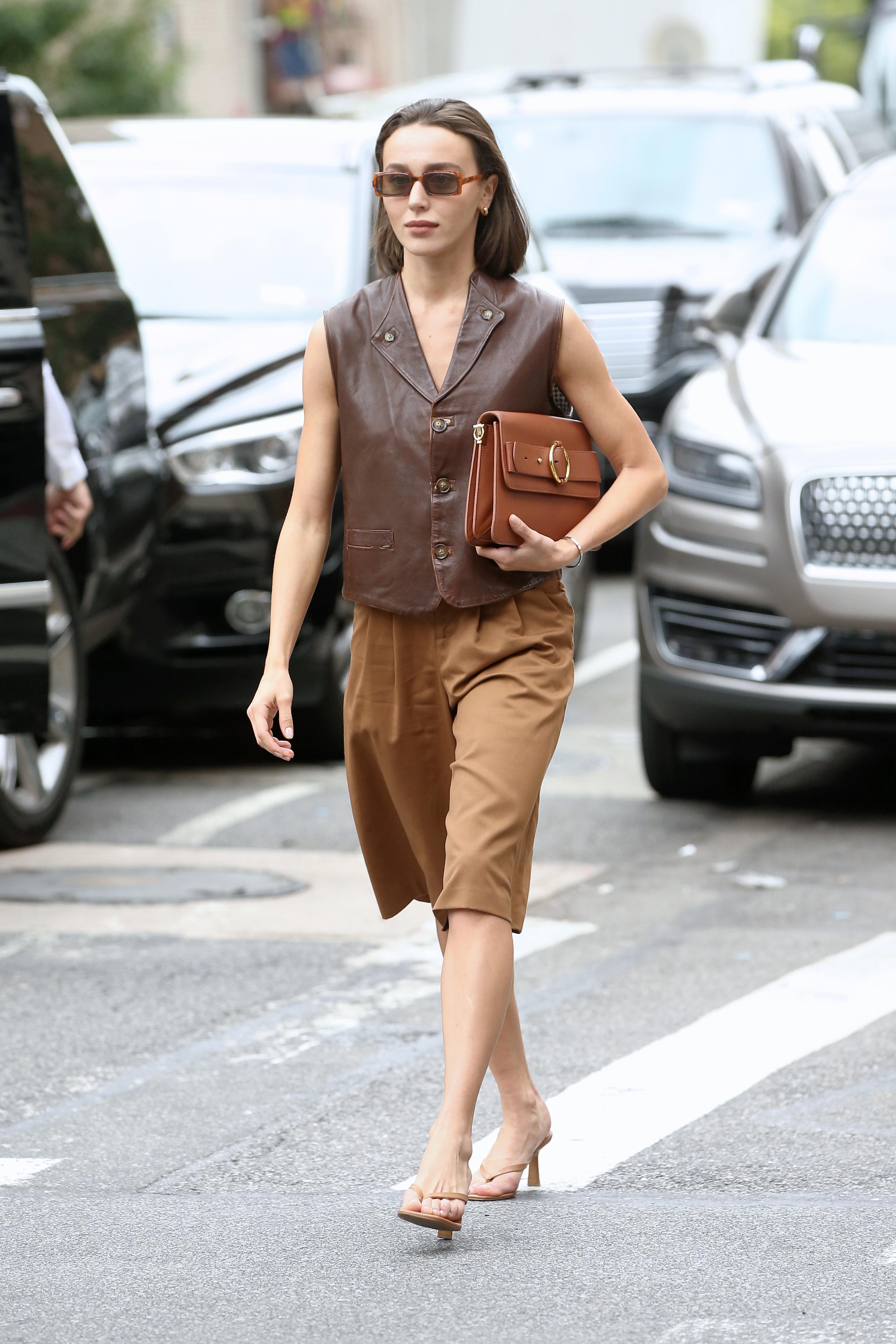 赵小棠郑爽都爱的百慕大短裤 才是今夏的必穿单品!