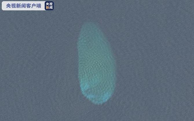 △火星礁,位于南沙群岛东北部,属于独立发育的小型塔礁(高分二号卫星影像)