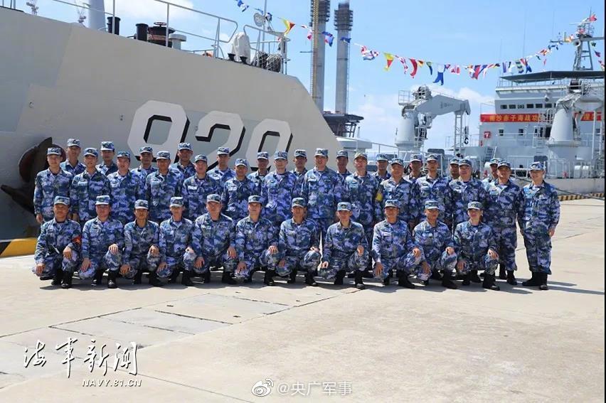海军鄱阳湖舰、云台山舰、紫金山舰退役