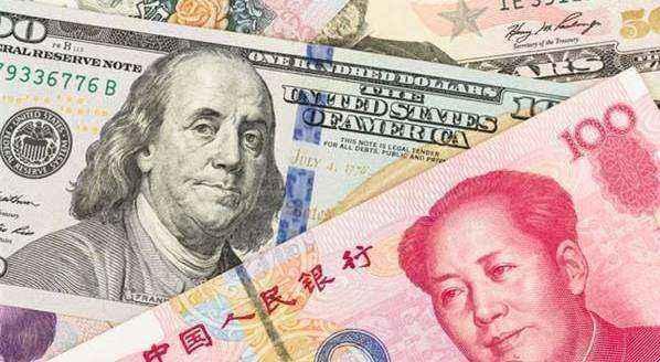 在、离岸人民币兑美元双双收复7.03关口