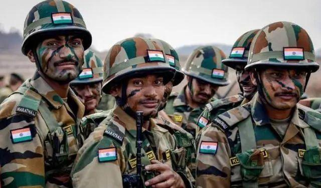 印度士兵(资料图)