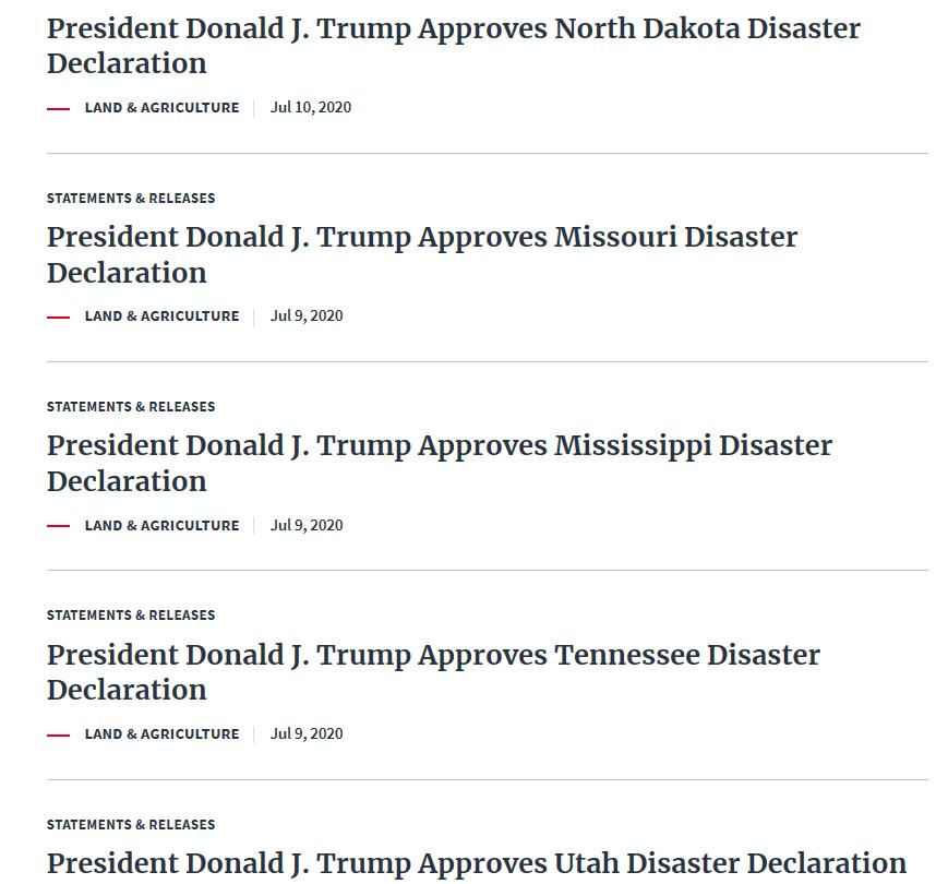 【网站备案教程】_特朗普批准美国多州进入灾难状态