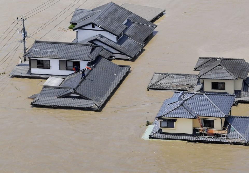 【丁丁网 南京】_日本熊本县持续暴雨 已致5人死亡16人心肺停止