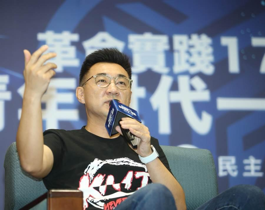 国民党主席江启臣声称:九二共识只是工具性论述