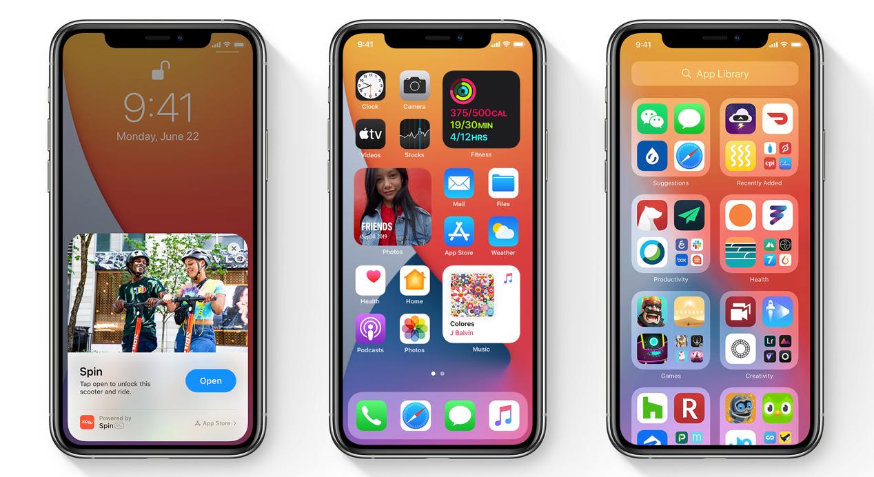 苹果iOS 14首个公测版发布 普通用户也能提前尝鲜
