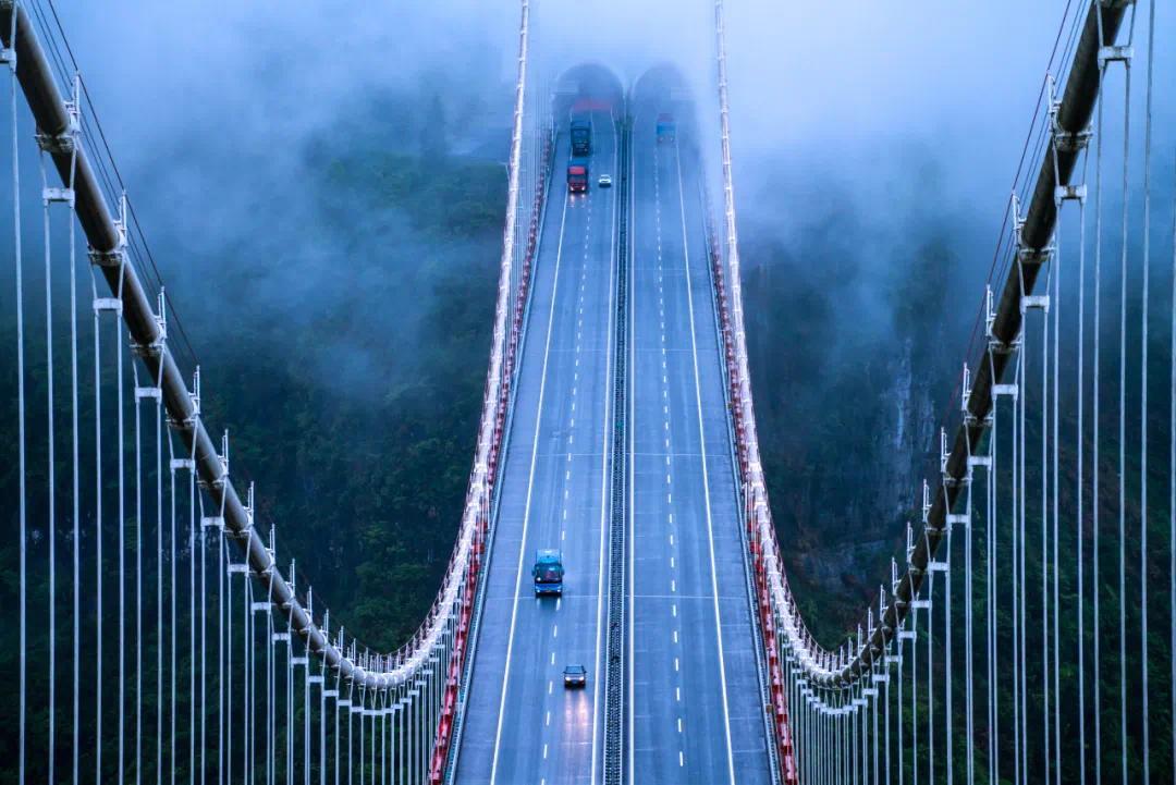 矮寨大桥 来自马蜂窝用户@存在
