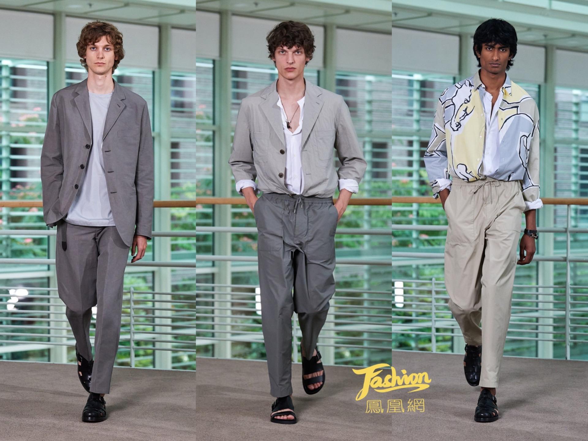 爱马仕2021春夏系列男装发布 诠释跨越时光的随性魅力
