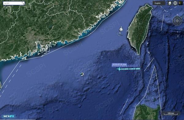 台媒:美国军机又出动,经巴士海峡进入中国南海