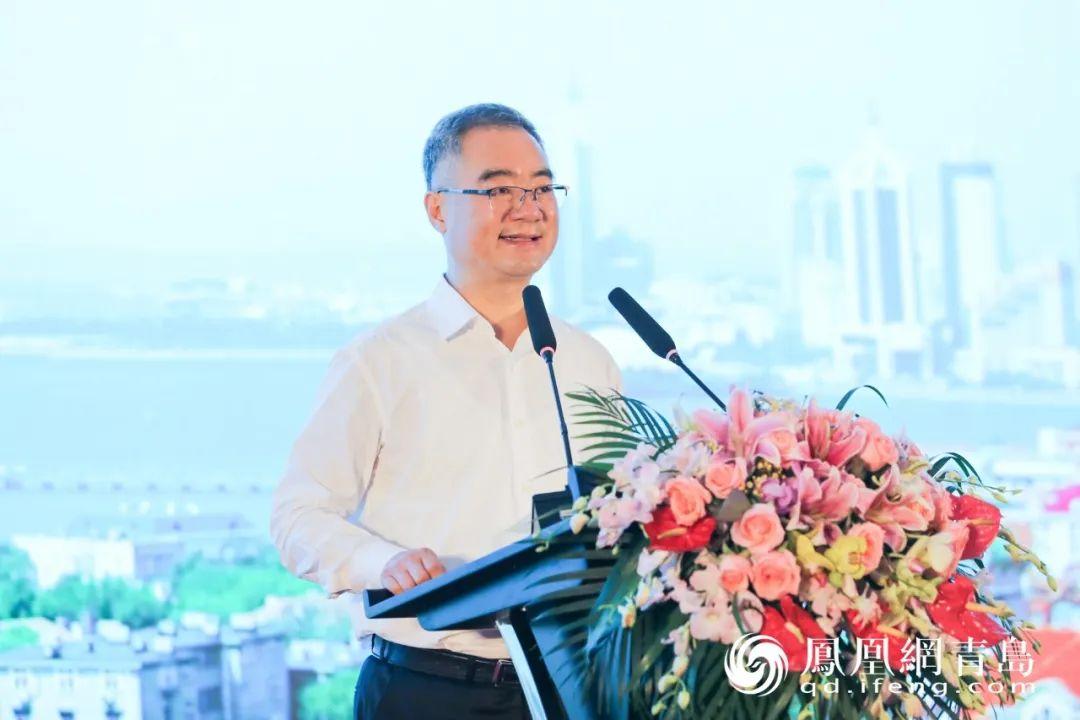 山东省委常委、青岛市委书记王清宪发表主旨演讲
