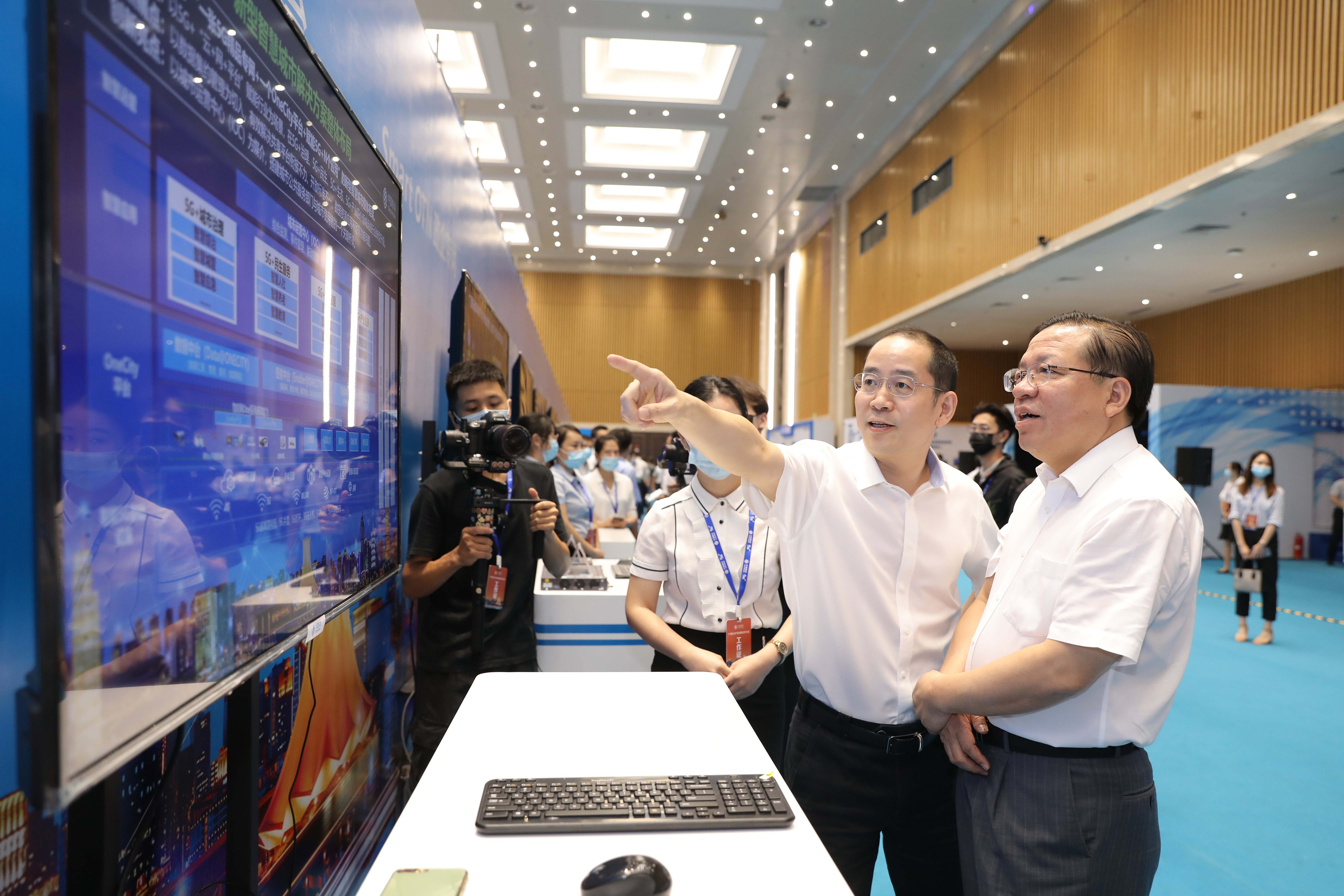 新基建助力新经济 新生态共创新生活——广西5G产业发展合作大会在南宁举行