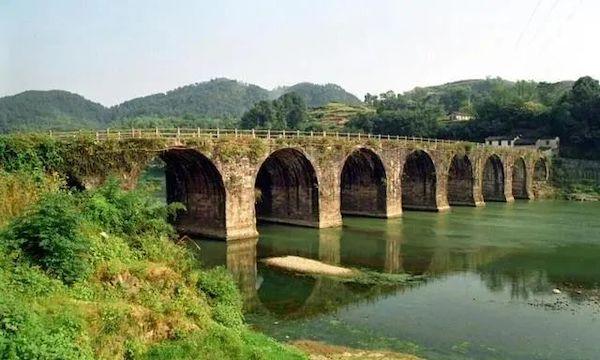 乐成桥被毁前