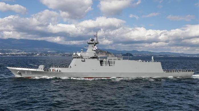 菲律宾首艘导弹护卫舰正式入列海军