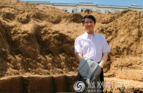 冯时(图片来源:凤凰网国学)