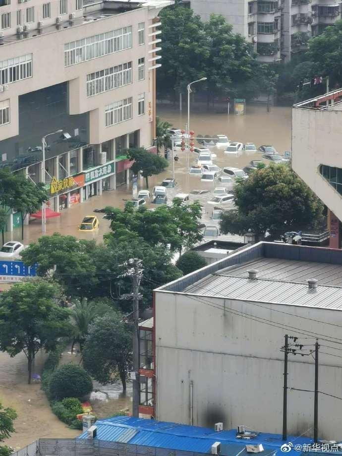 【莱芜网站优化】_湖北恩施市城区清江漫堤大面积被淹 当地正紧急组织转移群众