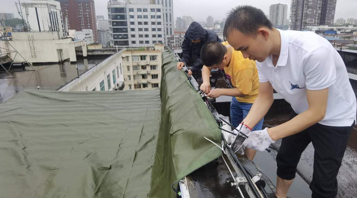 超级基站屋顶防水加固
