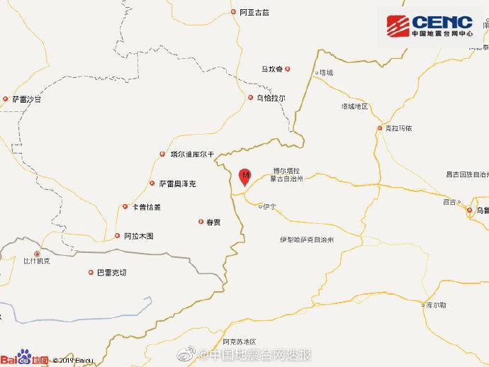 【优化技术】_新疆伊犁州发生5.0级地震:震源深度15千米 新疆多地有震感