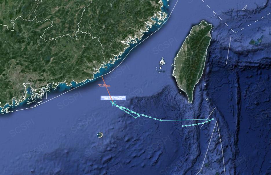 【蒋晓松】_美军E-8C监视飞机本周第三次现身南海 逼近广东海岸偷窥