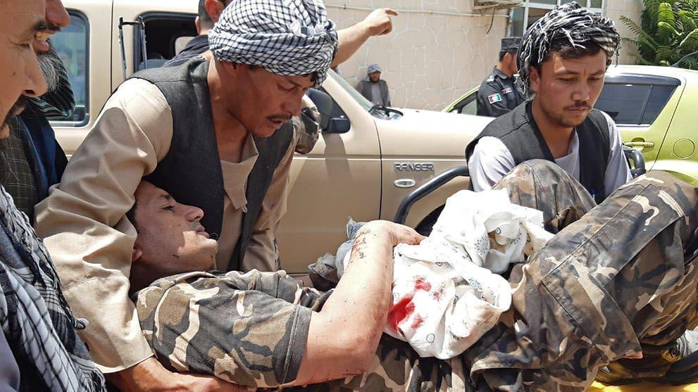 【彩乐园下载进入12dsncom】_阿富汗国家安全局大楼附近发生爆炸 造成10死54伤