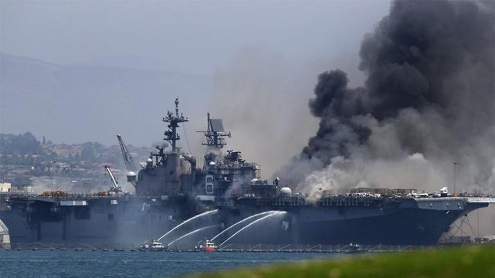 【彩乐园下载进入12dsncom】_美海军基地两栖攻击舰爆炸起火 已致21人受伤