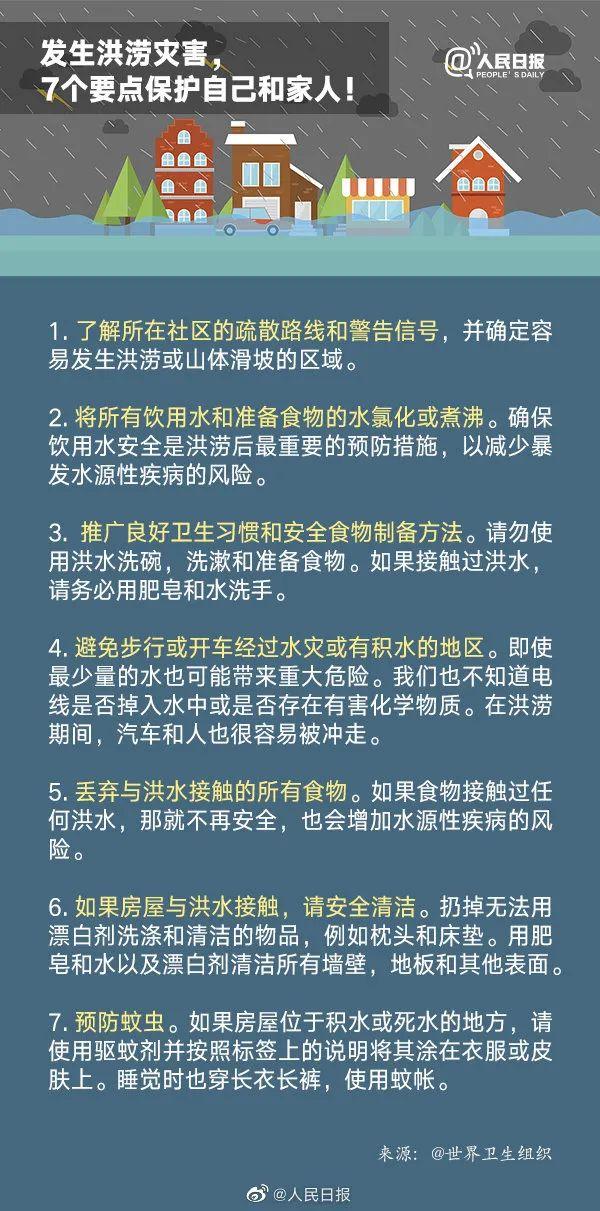 【精品文案】_连降暴雨,疾控专家发重要提醒:这些食物不要吃!