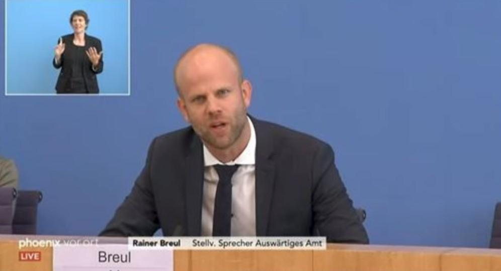 """台当局因""""撤旗""""事件杠上德国 没想到又被补了一刀"""