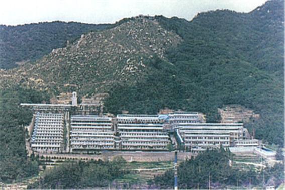 坐落在山坡上的兄弟福利院。图片来源:釜山市政府
