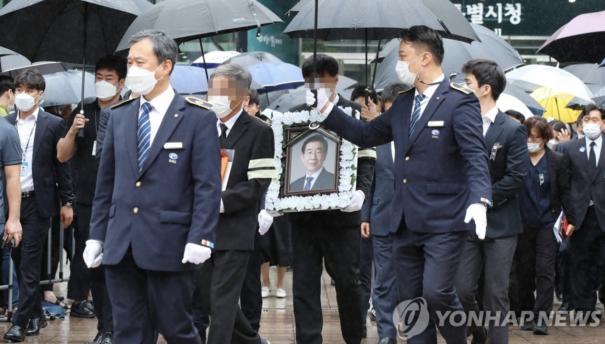 【彩乐园3】_韩国首尔市长之死:性骚扰疑云未散 出殡当日再起波澜