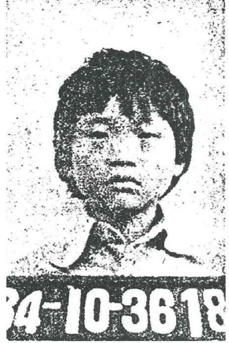 受害者韩钟善儿时的照片。图片来源:书籍《活着的孩子》