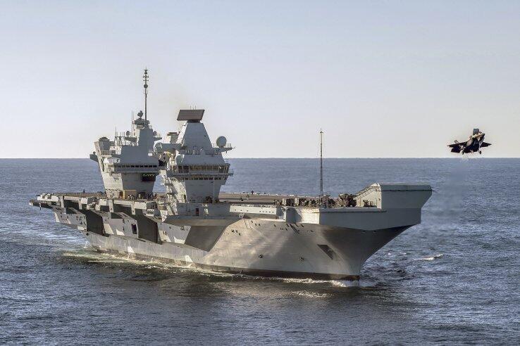英国要在航母上部署蜂群无人机 前两天叫嚣要来南海