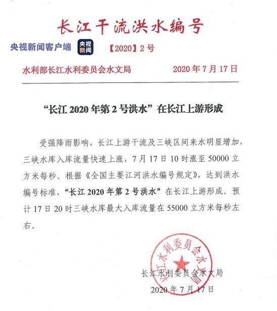 """【什么是长尾关键词】_""""长江2020年第2号洪水""""17日在长江上游形成"""