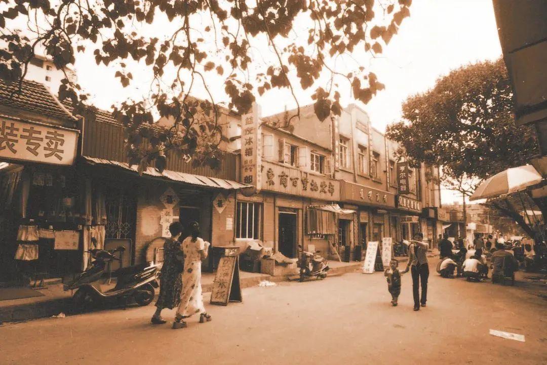 台东镇商业街旧照