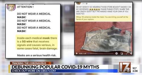 【营销策划技巧】_美国民众怀疑口罩鼻梁条是5G天线 会跟踪还会致癌