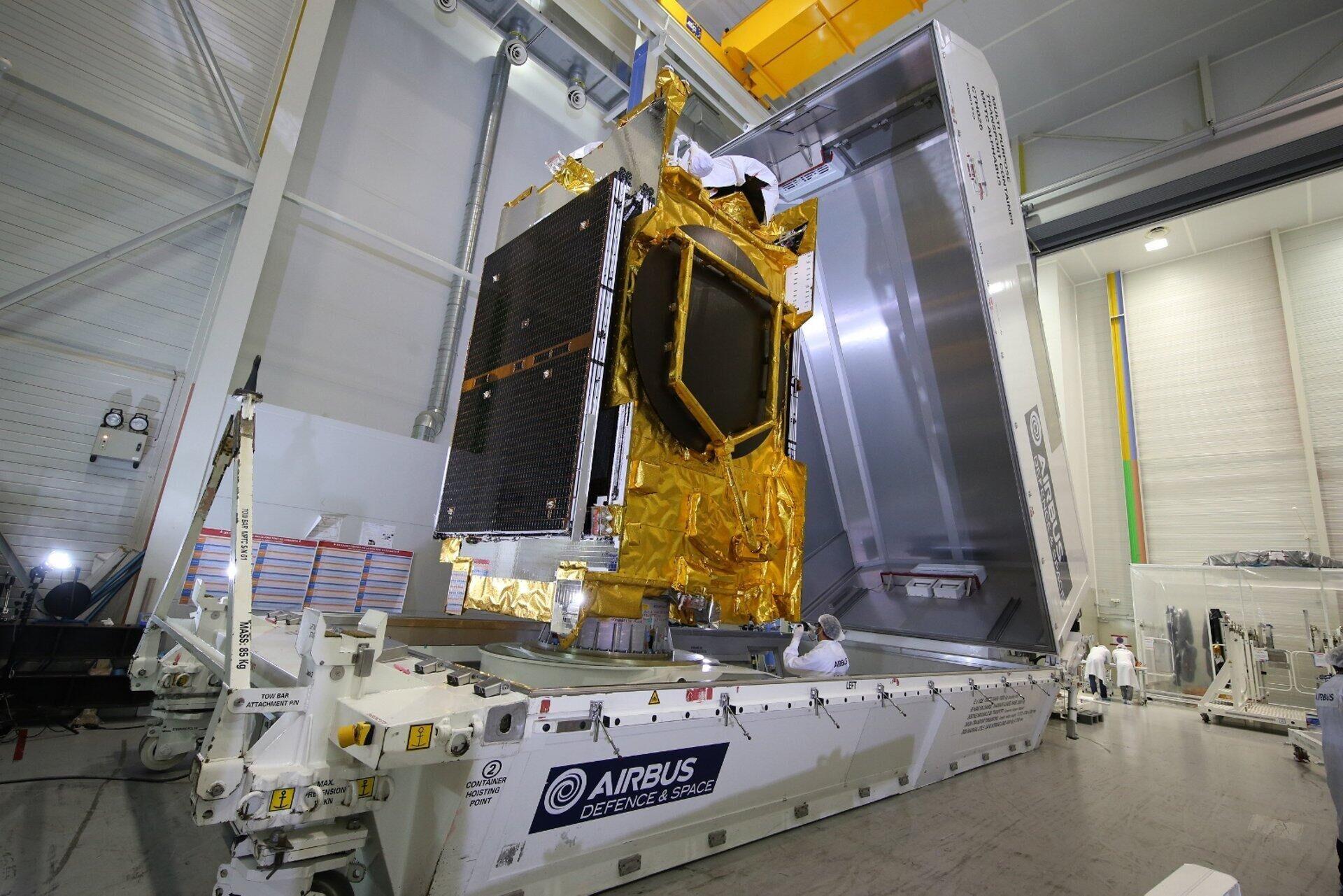 韩国首颗军用通信卫星在美发射 有助韩军收回战时指挥权