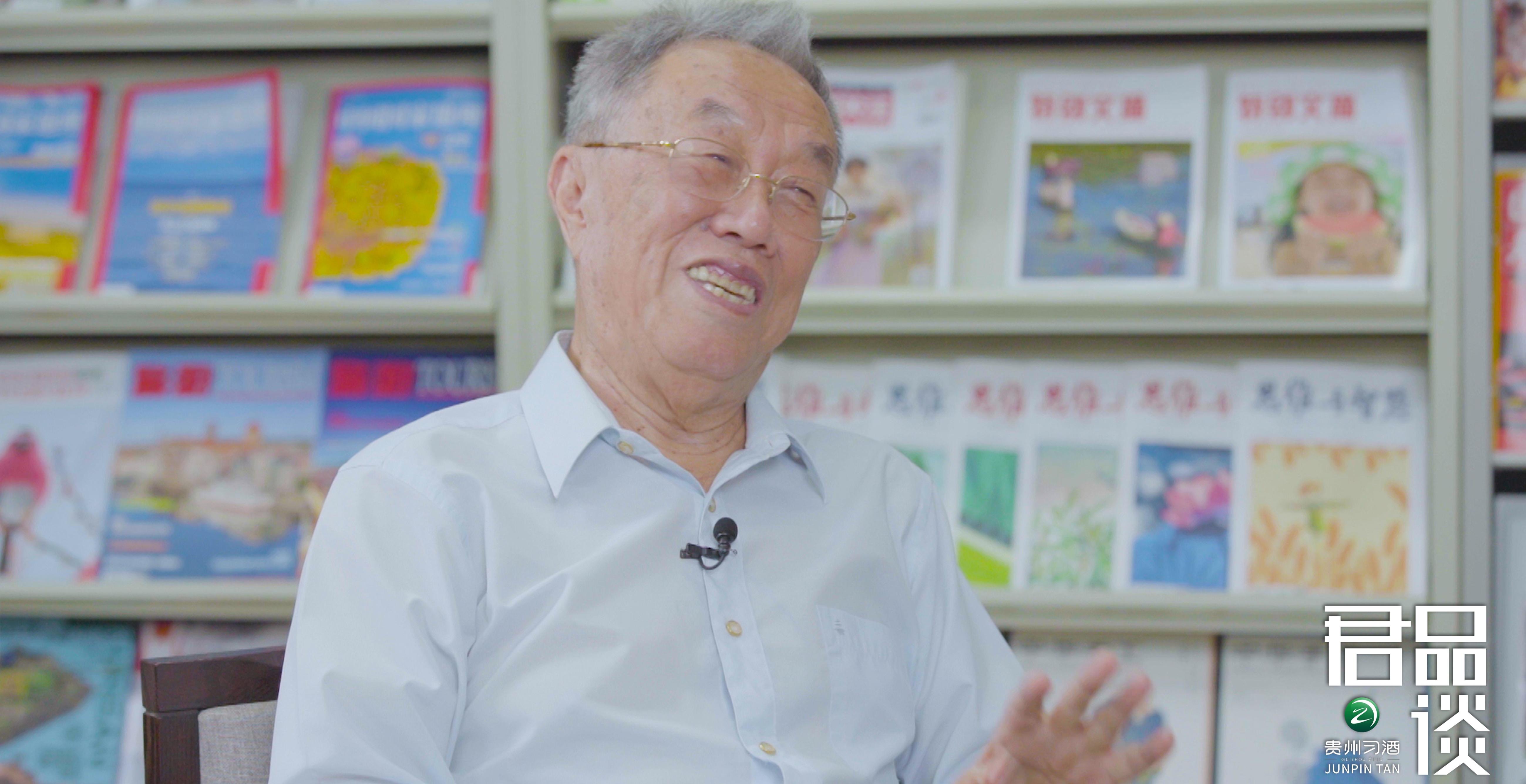 《君品谈》 人民艺术家王蒙:我当部长就像服兵役,说好就干三年