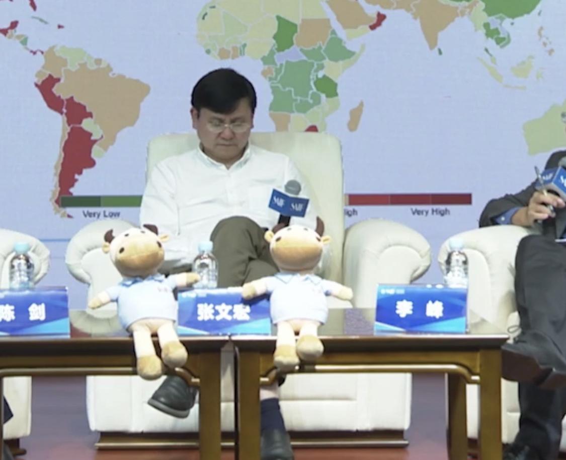张文宏评价疫苗研发:只闻脚步声 不见人下楼