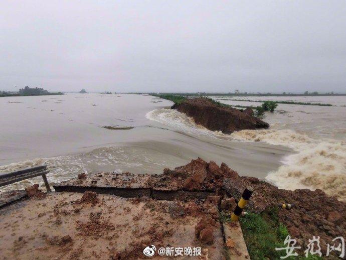 强降雨造成安徽399.2万人受灾   直接经济损失152.7亿元