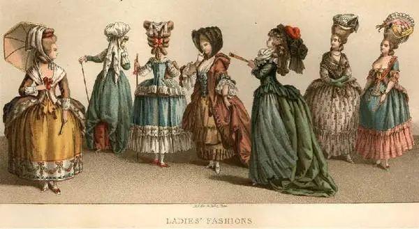 洛可可时期服饰特征