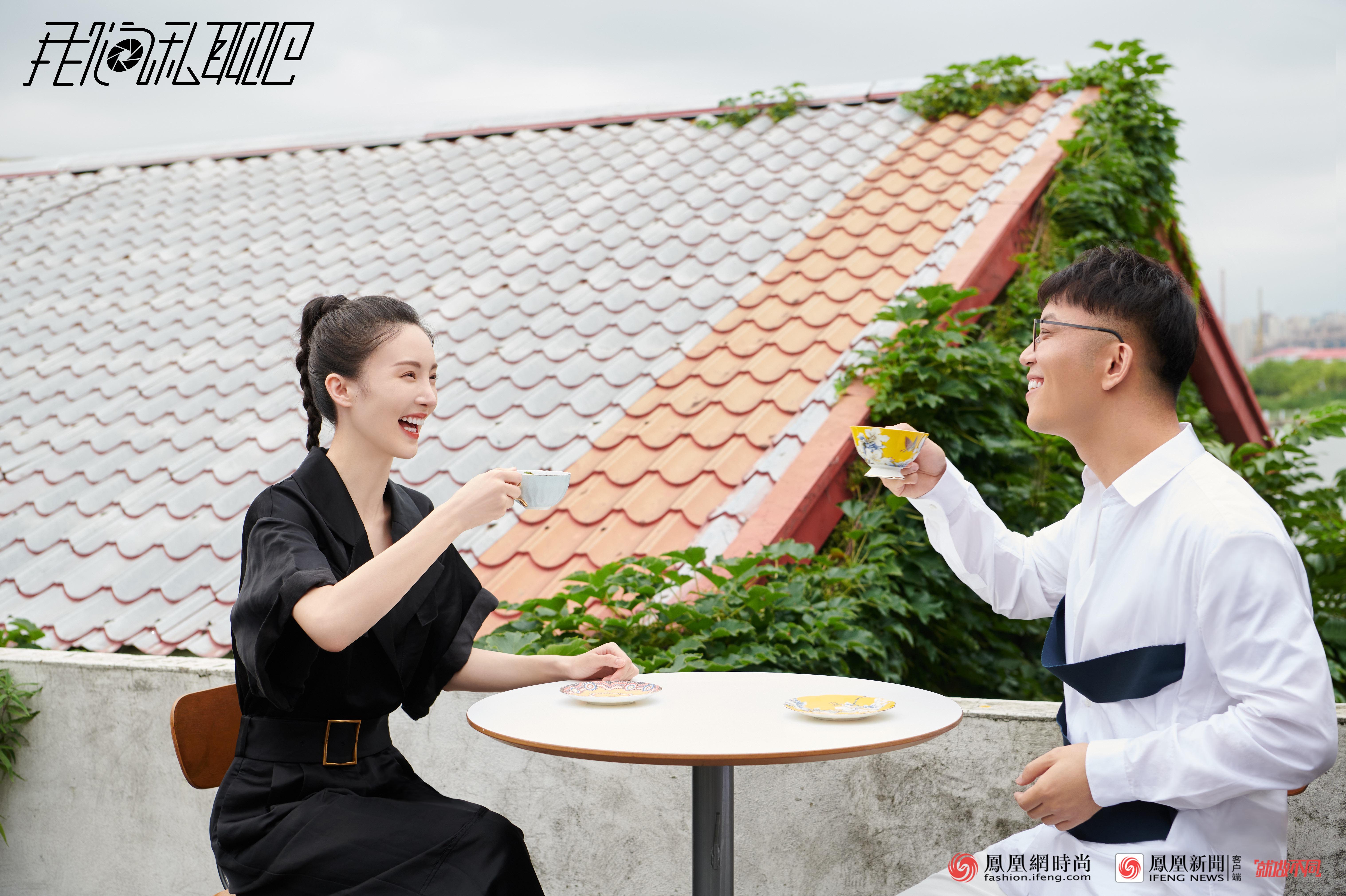 金晨:我特别欣赏张雨绮的狼性,希望有她那样自信。